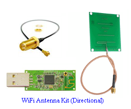 homemade wifi antenna kit