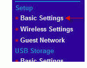 netgear router basic settings