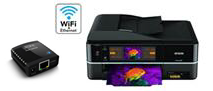 wireless printers and print servers